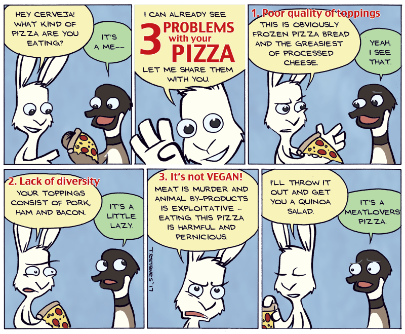 3 Problems with Your Pizza